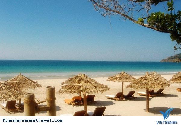 Lôi cuốn khách du lịch bởi những bờ biển nguyên sơ ở Myanmar