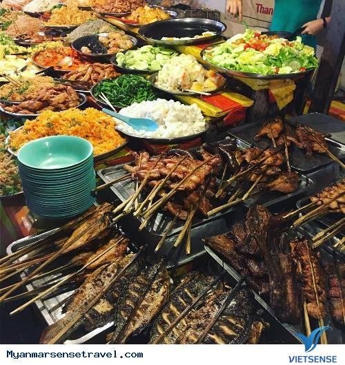 Mahabandoola- con đường ẩm thực nổi tiếng tại Yangon Myanmar,mahabandoola con duong am thuc noi tieng tai yangon myanmar