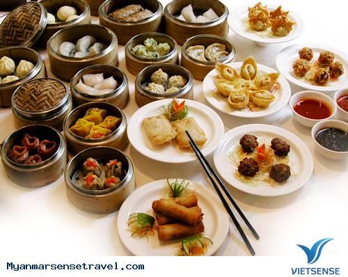 Phong cách ẩm thực của Myanmar,phong cach am thuc cua myanmar