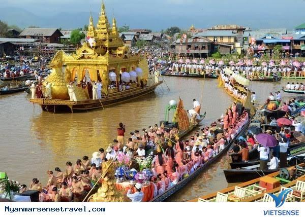 Rộn ràng lễ hội chùa Phaungtaw Oo tại đất nước Myanmar,ron rang le hoi chua phaungtaw oo tai dat nuoc myanmar
