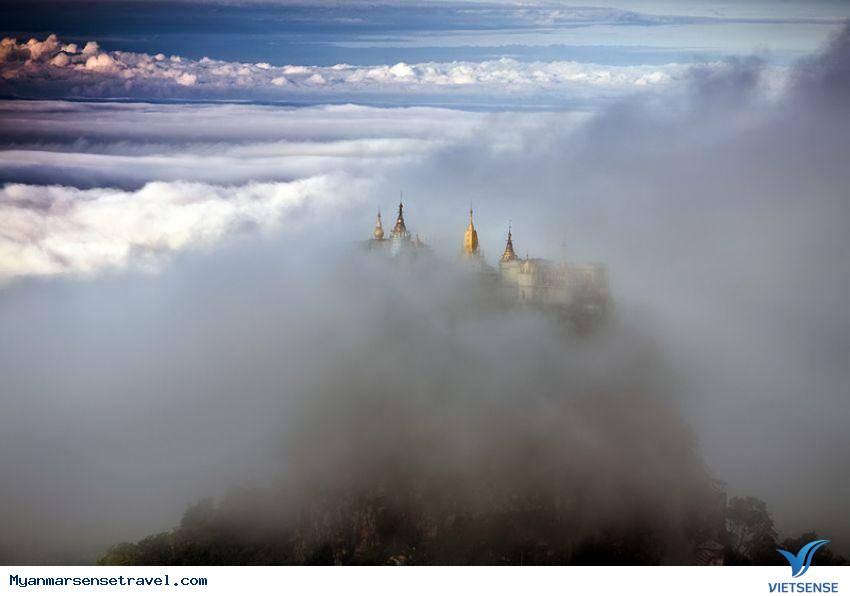 Tận hưởng khung cảnh mở ảo ở núi Popa của Myanmar,tan huong khung canh mo ao o nui popa cua myanmar