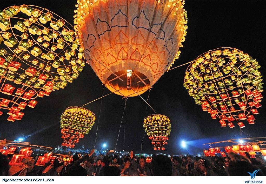 Taunggyi Tazaungdaing - Lễ hội khinh khí cầu lửa ở Myanmar,taunggyi tazaungdaing  le hoi khinh khi cau lua o myanmar