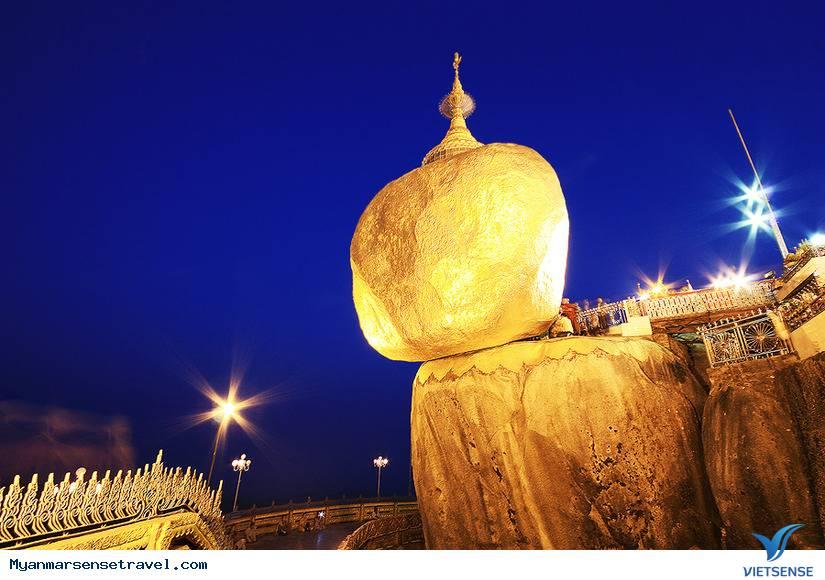 Tò mò khám phá Golden Rock - Hòn đá thiêng hút khách nhất ở Myanmar,to mo kham pha golden rock  hon da thieng hut khach nhat o myanmar