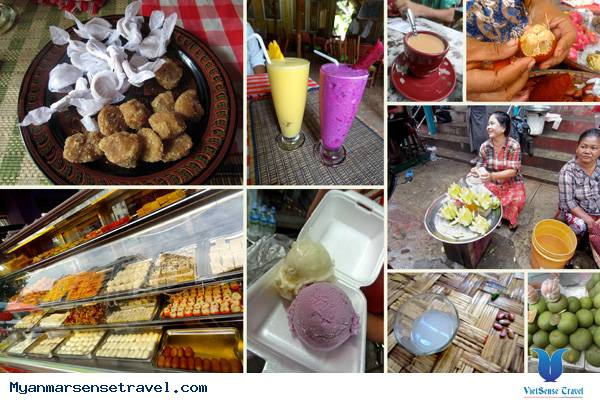 tổng hợp ẩm thực ngon bổ rẻ ở Myanmar,tong hop am thuc ngon bo re o myanmar