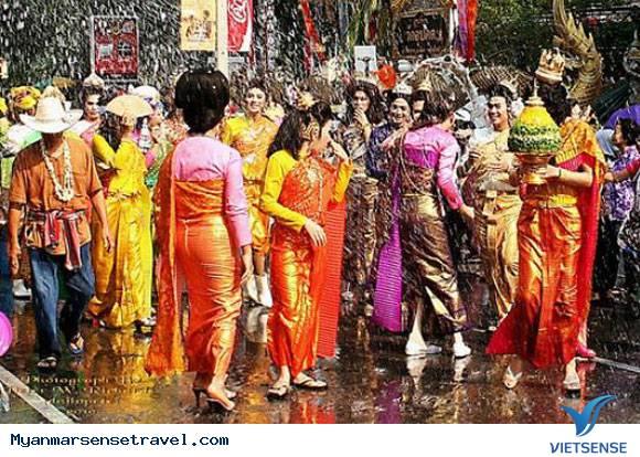 Trải nghiệm lễ hội té nước tại Myanmar,trai nghiem le hoi te nuoc tai myanmar