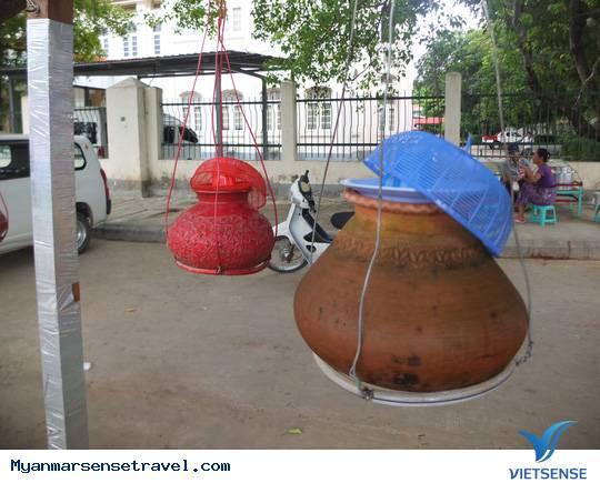 Uống nước bình miễn phí ở Myanmar,uong nuoc binh mien phi o myanmar