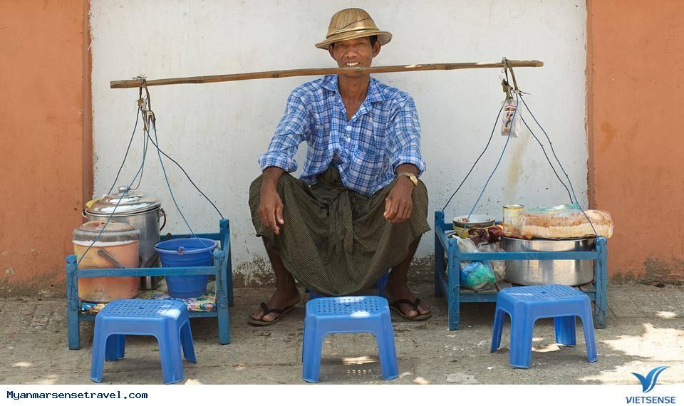 Vẻ đẹp ẩm thực đường phố tại Myanmar,ve dep am thuc duong pho tai myanmar