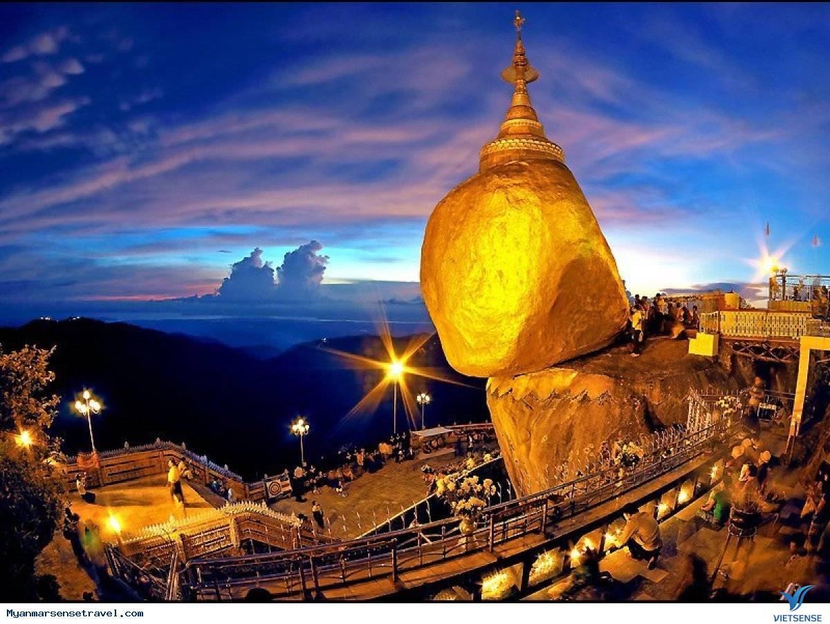 Yangon - Bago - Kyaikhtyo - Golden Rock Dịp Tết Âm Lịch